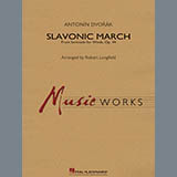 Robert Longfield Slavonic March (from Serenade for Winds, Op. 44) - Conductor Score (Full Score) arte de la cubierta