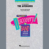 Robert Longfield The Avengers - Percussion 2 l'art de couverture