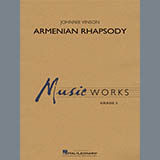 Johnnie Vinson Armenian Rhapsody - Bb Clarinet 1 cover art