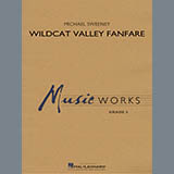 Michael Sweeney Wildcat Valley Fanfare - Mallet Percussion 1 cover kunst
