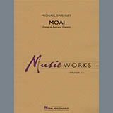 Michael Sweeney Moai (Songs of Ancient Giants) - Percussion 1 l'art de couverture