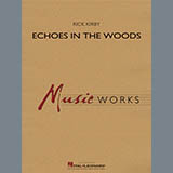 Rick Kirby Echoes in the Woods - Mallet Percussion cover kunst
