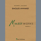 Richard L. Saucedo Eagles Awake! - Baritone B.C. cover kunst