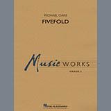 Partition autre Fivefold - Eb Alto Saxophone 2 de Michael Oare - Autre