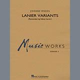 Lanier Variants - Concert Band Sheet Music