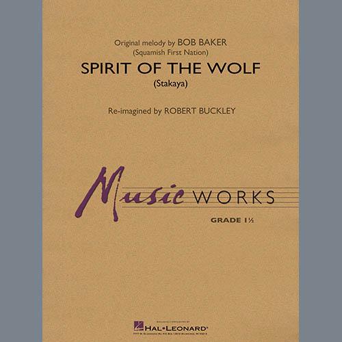 Spirit of the Wolf (Stakaya) - Bb Trumpet 1 by Robert Buckley Concert Band  Digital Sheet Music