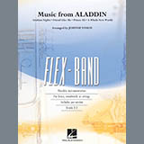 Music from Aladdin (arr. Johnnie Vinson) - Concert Band: Flex-Band