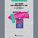 MARIAH CAREY - All I Want For Christmas Is You (arr. Johnnie Vinson) - Conductor Score (Full Score)
