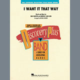 Backstreet Boys - I Want It That Way (arr. Michael Brown) - Conductor Score (Full Score)