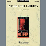 Klaus Badelt Pirates of the Caribbean (arr. Ted Ricketts) cover art