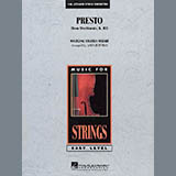 Presto (from Divertimento, K.113) - Violin 3 (Viola T.C.)