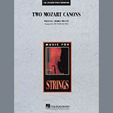 Two Mozart Canons - Orchestra