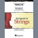 Thriller (Arr. Robert Longfield) - Orchestra