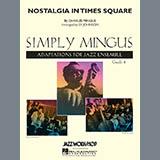 Nostalgia In Times Square - Jazz Ensemble Noten