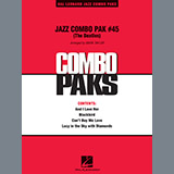 Jazz Combo Pak #45 (The Beatles) - Jazz Ensemble