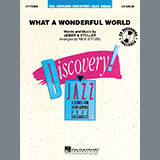 Louis Armstrong What a Wonderful World (arr. Rick Stitzel) cover art
