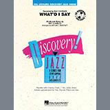 Whatd I Say - Jazz Ensemble
