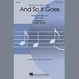 Billy Joel And So It Goes (arr. Audrey Snyder) cover art