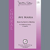 Kevin A. Memley Ave Maria cover art
