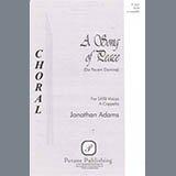 Jonathan Adams A Song Of Peace (Da Pacem Domine) cover art