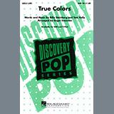 Cyndi Lauper True Colors (arr. Roger Emerson) l'art de couverture