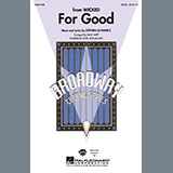 Stephen Schwartz For Good (from Wicked) (arr. Mac Huff) cover art