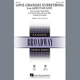 Love Changes Everything (from Aspects Of Love) (arr. Ed Lojeski) - Choir Instrumental Pak