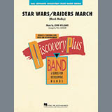 Paul Lavender Star Wars/Raiders March - Eb Baritone Saxophone arte de la cubierta