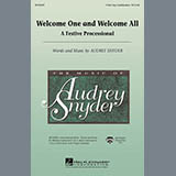 Audrey Snyder - Welcome One And Welcome All - A Festive Processional - Percussion