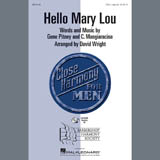 Ricky Nelson Hello Mary Lou (arr. David Wright) cover art