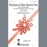 Christmas In Three Quarter Time (Medley) - Choir Instrumental Pak