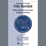 Jose Feliciano Feliz Navidad (arr. Tom Gentry, David Briner) l'art de couverture
