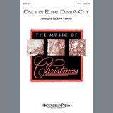 John Leavitt - Once in Royal David's City - Score