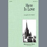Dan Forrest Here Is Love - Full Score l'art de couverture