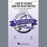 I Said My Pajamas (And Put On My Prayrs) - Choir Instrumental Pak