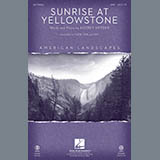 Audrey Snyder - Sunrise At Yellowstone - Full Score
