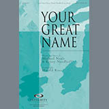 Your Great Name - Choir Instrumental Pak Bladmuziek
