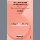 Three For Three - Three Songs For Three Parts - Volume 3