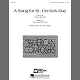 William Bolcom A Song For St. Cecilia's Day cover art