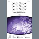 Partition chorale Let It Snow! Let It Snow! Let It Snow! (arr. Mark Hayes) de Jule Styne - SAB
