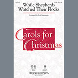 While Shepherds Watched Their Flocks (arr. Bob Burroughs) - Choir Instrumental Pak