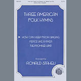 American Folk Hymn How Can I Keep From Singing (arr. Ronald Staheli) cover art