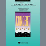 John Moss Highlights from Beauty and the Beast - Bb Bass Clarinet l'art de couverture
