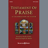 Joseph M. Martin Testament of Praise (A Celebration of Faith) - Full Score cover art