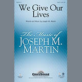 Joseph Martin We Give Our Lives - Bb Trumpet 1 cover art