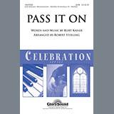 Robert Sterling Pass It On - Marimba cover art