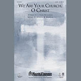 Joseph Martin We Are Your Church, O Christ - Violin 2 cover art