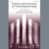 Fanfare and Concertato on O Worship the King - Choir Instrumental Pak