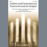 Fanfare and Concertato on Praise to the Lord, the Almighty - Choir Instrumental Pak