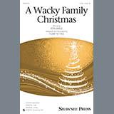Tom Fettke A Wacky Family Christmas l'art de couverture